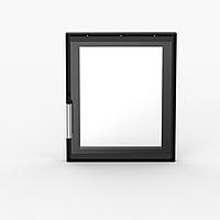 Дверцы для камина со стеклом