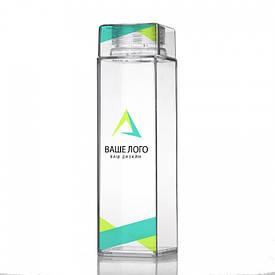 Бутылка для воды c логотипом (от 10 шт)
