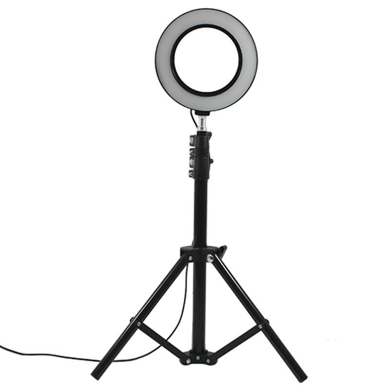 Набор для блогера YaoYi JY-160 L-100 стойка кольцевой свет держатель для телефона
