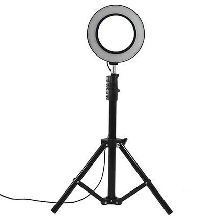 Набор для блогера YaoYi JY-160 L-100 стойка кольцевой свет держатель для телефона, фото 2