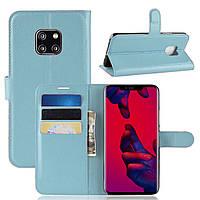 Чехол-книжка Litchie Wallet для Huawei Mate 20 Pro Blue