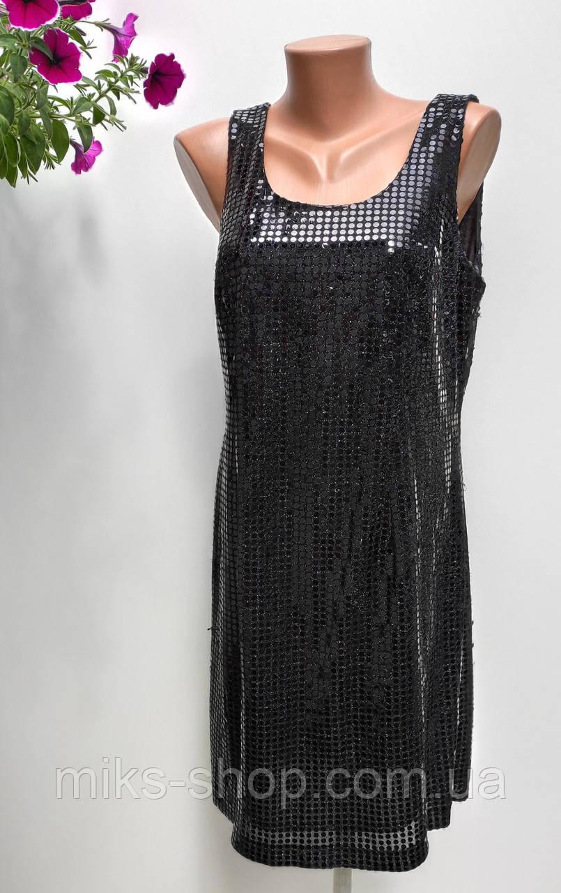 Нарядное платье в пайетки Размер 44-46 ( Е-244)
