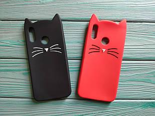 Чохол 3D Cat для Honor 10 lite Бампер Вусики (2 кольори)
