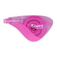 Корректор ленточный Axent 7008-10-A розовый