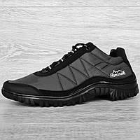 40, 42 и 43 р. Кросівки чоловічі демісезонні чорні (Кз-40ч)