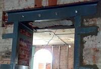 Перепланировка Проемы в несущих стенах