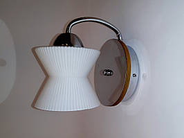 Настенный светильник TINKO 909CR/1W SPINER хром/дерево