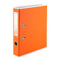 Папка-регистратор А4/50мм двухс. PP разобр. оранжевая D1715-09