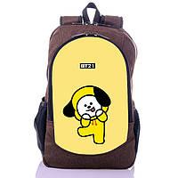 Рюкзак с принтом Пак Чимин К-поп БТС BTS бт21 Bt21 (backpack053)