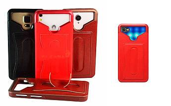 Бампер для смартфона Alcatel A5 LED с отделением для пластиковой карты