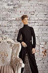 Детские брюки B-TR-01/Boy (в 2х цветах: черный и синий)