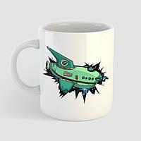 Кружка с принтом Футурама. Futurama. Чашка с фото, фото 1