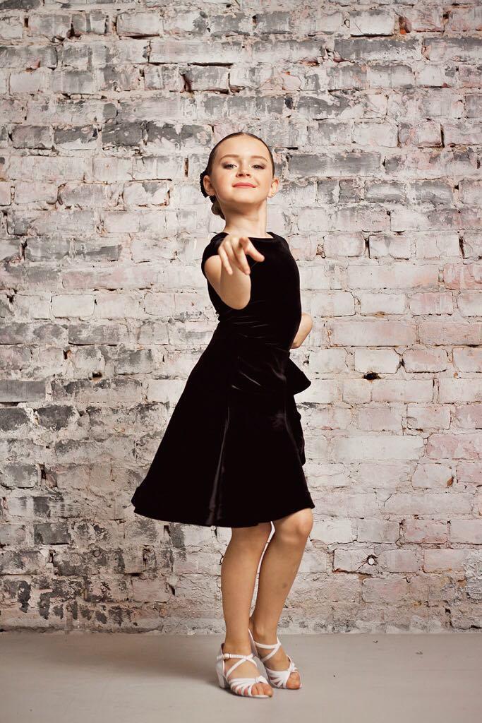 Турнирный комплект DBS_01 Black - юбка и боди