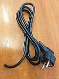 Сетевой шнур 1.7м  монтажный  (3/0.75), фото 2