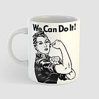 Кружка с принтом We Can Do It. Чашка с фото, фото 1