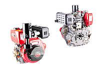 Двигатель (В сборе)  на Мотоблок 186F (9 Hp Лошадиных Сил) (полный комплект, под шлицы) DIGGER