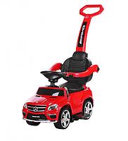 Детская каталка-толокар 3в1 Bambi Мерседес SX1578-3 красный, резин.колеса