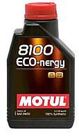 Масло автомобильное, 1л (синтетика, 0W-30, 8100 ECO-NERG) MOTUL (#102793)