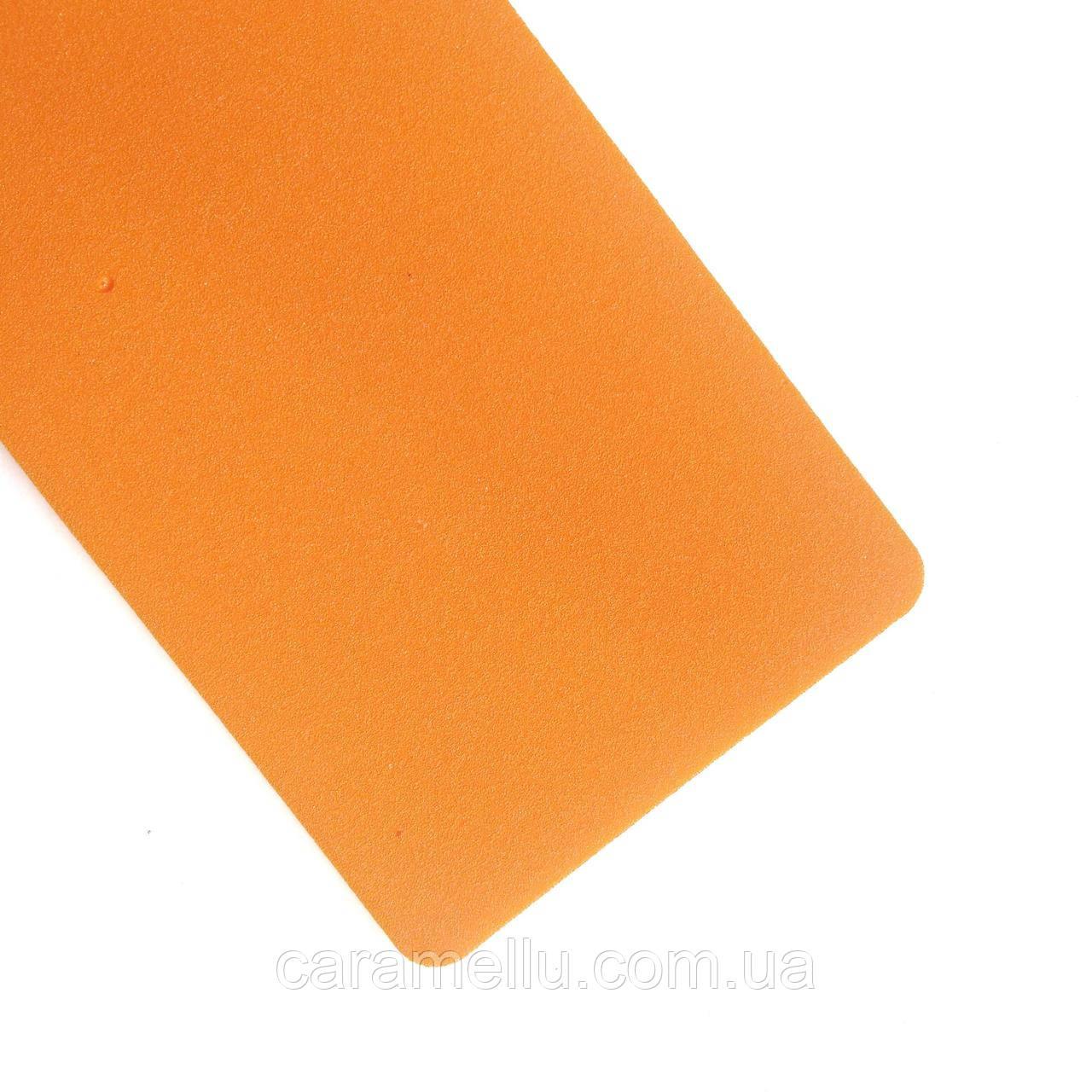 Фоамиран турецкий 2мм. Цвет Оранжевый. 50х25см.