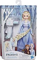 Кукла Холодное сердце Эльза Frozen 2 Disney Elsa и прибор для плетения кос Магия причесок E7002 Hasbro