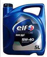 Масло автомобильное, 5л (SAE 5W-40, синтетика, EVOLUTION 900 NF) ELF (#GPL)