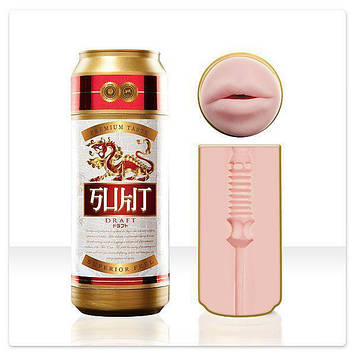 Мастурбатор в виде баночного пива Fleshlight Sex in a Can Sukit Draft