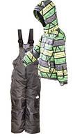 Зимний лыжный комплект (куртка+полукомбинезон) Тайга Ski Tour PIDILIDI 140 (1056-02/1047-06)