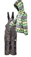 Зимний лыжный комплект (куртка+полукомбинезон) Тайга Ski Tour PIDILIDI 146/152 (1056-02/1047-06)