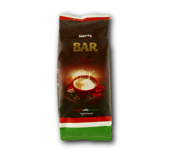 "Ароматизированный кофе в зерне со вкусом Вишни ТМ ""Віденська кава"", 250г"