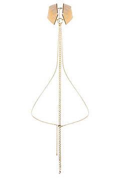 BDSM набор Bijoux Indiscrets Desir Magnifique Collar Gold