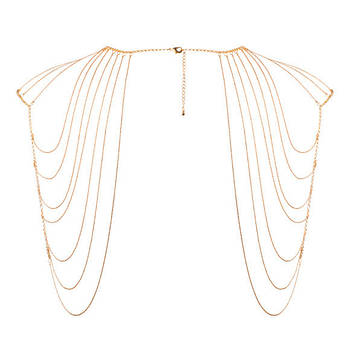 BDSM набор Bijoux Indiscrets Magnifique Shoulder Jewelry Gold
