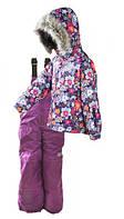 Зимний термо комплект (куртка+полукомбинезон) Сказка Pidilidi Ski tour 128 (1056-01/1043-09)