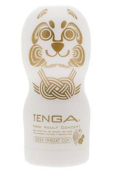 Мастурбатор Tenga Deep Throat Limited Edition White