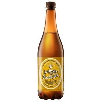 Пиво Львівське0,95л Lwiwske Slodowe 4,4%
