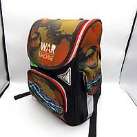 Школьный каркасный ортопедический рюкзак 1602#