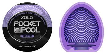 Мастурбатор - Zolo Pocket Pool Rack Em