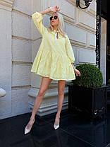 Легкое платье свободного кроя, фото 3