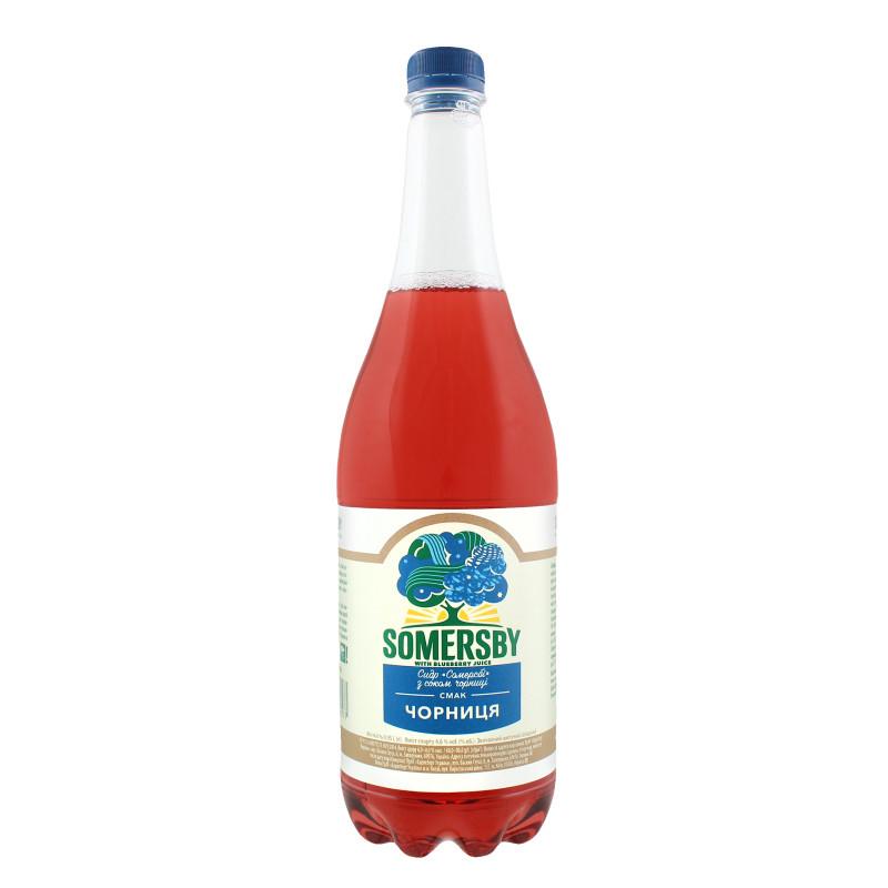 Сидр Somersby 0,95л з сок чорниц с/б 4,6%