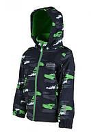 Демисезонная термо куртка Милитари PIDILDI для мальчиков 134 (1005-02)