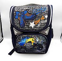 Школьный каркасный ортопедический рюкзак 1601#