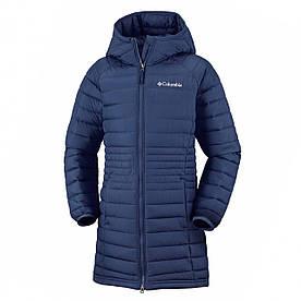 Пальто демисезонное подростковое 8,14-20 лет для девочки ТМ Columbia 1810421-467 синее