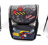 Школьный каркасный ортопедический рюкзак 1605#