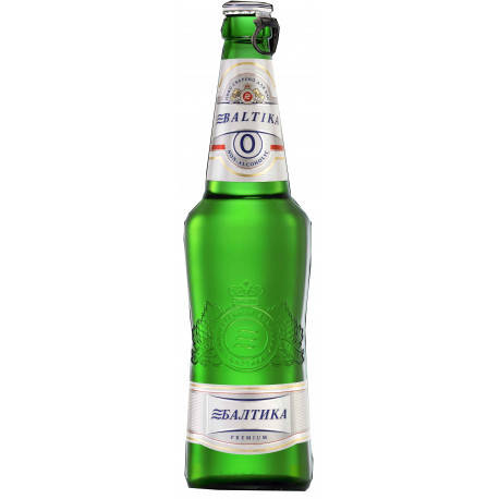 Пиво Безалкогоьне № 0 Балтика  0,5л, фото 2