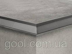 Угол 90 алюминиевый для профиля открытого балкона и террасы окончание для плитки и свеса капельник отлив