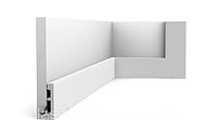 Плинтус гибкий напольный Orac Decor Axxent SX157F,(6.6x1.3x200 см),лепной декор из дюрополимера.