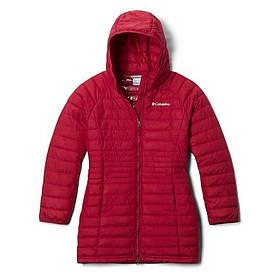 Пальто демисезонное подростковое 18-20 лет для девушек ТМ Columbia 1810421-623 красное
