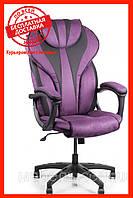 Компьютерное кресло Barsky BSD-07 Sportdrive Blackberry Fibre Arm_pad Tilt PA_desinge, геймерское