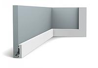 Плинтус гибкий напольный Orac Decor Axxent SX162F,(4x1x201 см),лепной декор из дюрополимера