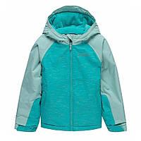 Лыжная куртка Columbia 6-20лет детская подростковая зимняя для девочки Alpine Action 1863433-338 бирюзовая