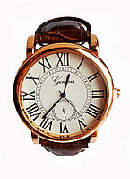Часы мужские Geneva Коричневые, КОД: 115907